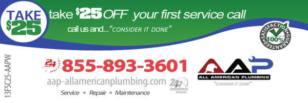 AAP All American Plumbing – Coupons