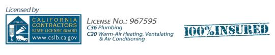 AAP-All American Plumbing – Licensing