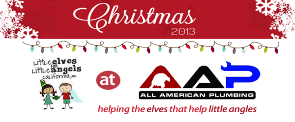 AAP-All American Plumbing_Christmas 2013-Page_Header-Little Elves for Little Angels