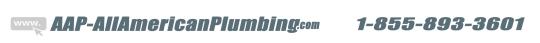 AAP-All American Plumbing 1-855-893-3601