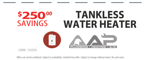 AAP-All American Plumbing - 250 Saving on Tankless Water Heaters