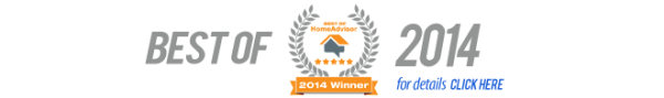 AAP-All American Plumbing, Heating and Air Conditioning - Home Advisor Award 2014 Best Of