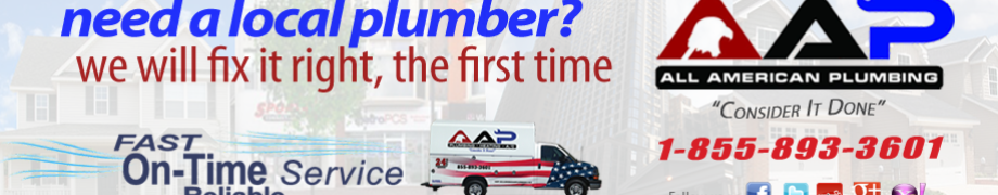AAP All American Plumbing Reviews 1-855-893-3603